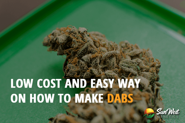 low cost and easy way on how to make dabs
