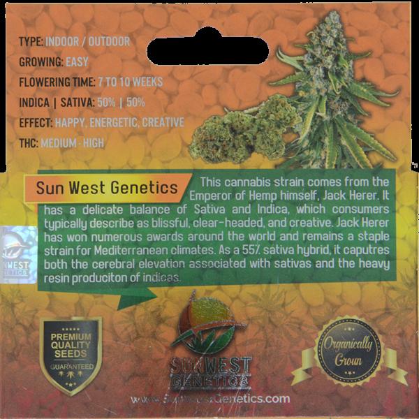 jack herer marijuana seeds description