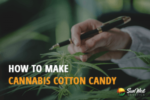 cannabis-infused cotton candy